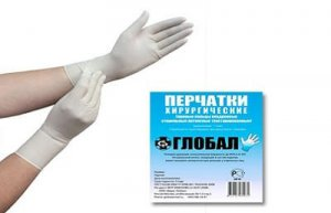 Хирургические перчатки фото